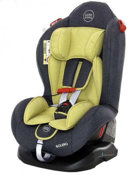 Coto Baby Autosedačka Bolero - 0-25 kg - 2019 - zelená,šedá