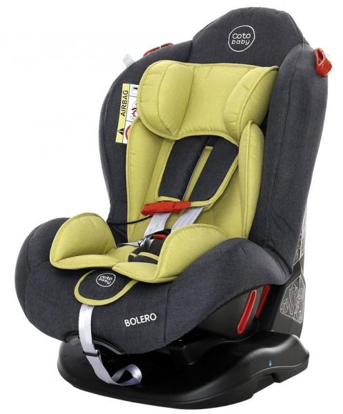 Coto Baby Autosedačka Bolero - 0-25 kg - 2018 - zelená,šedá