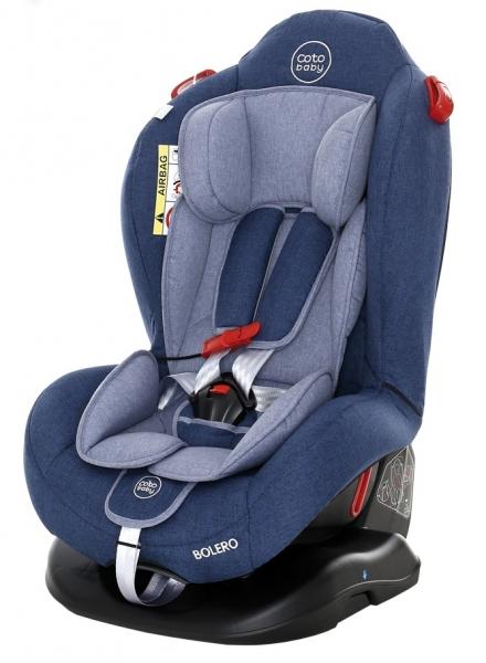 Coto Baby Autosedačka Bolero - 0-25 kg - 2019 -modrá,šedá