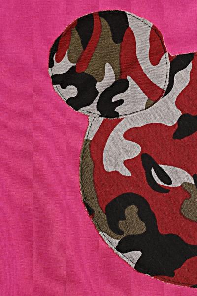 Be MaaMaa Těhotenská, kojící noční košile Minnie - růžová