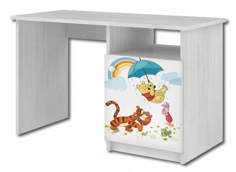 BabyBoo Psací stůl Medvídek PÚ a deštník,70x100x55 cm, D19