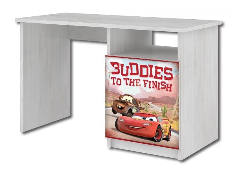 BabyBoo Psací stůl Cars a burák 70x100x55 cm, D19