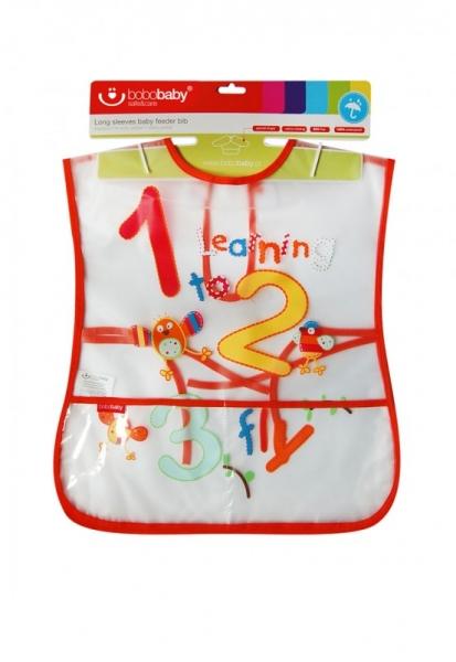 BOBO BABY Dětská zástěrka - Číslice
