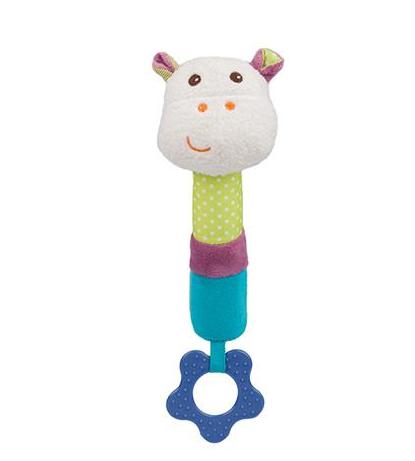 BabyOno Edukační hračka pískací s kousátkem - Mickey