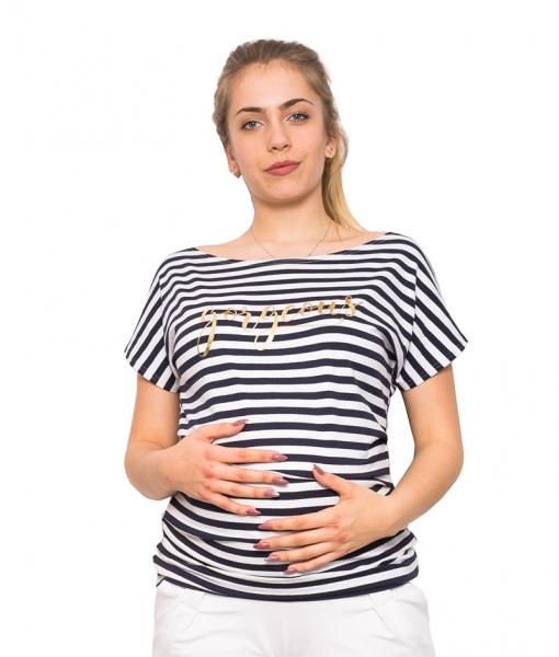 Be MaaMaa Těhotenské triko/halenka  - Gorgeous, vel. XL, Velikost: XL (42)