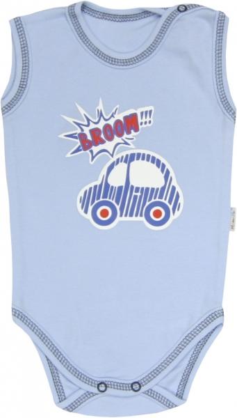 Body Veselé autíčko - na ramínka, 86, Velikost: 86 (12-18m)