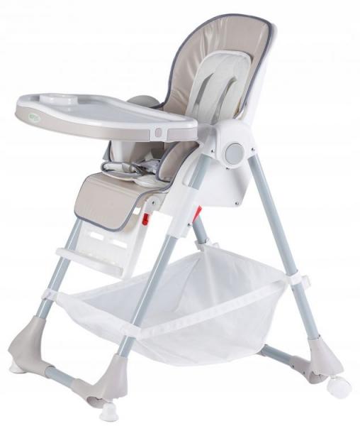 Jídelní stoleček Eco Toys - šedý
