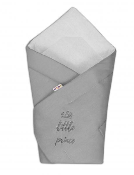 Rychlozavinovačka Little Prince 78x78  - jersey - šedá