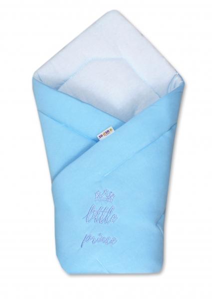 Rychlozavinovačka Little Prince 78x78  - jersey - modrá