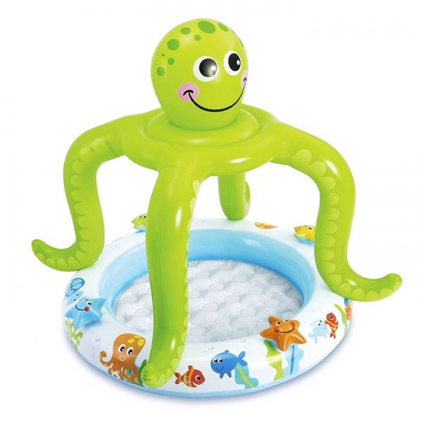 Nafukovací bazén chobotnice, 102 x 104 cm