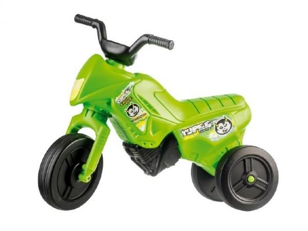 Odrážedlo Enduro Yupee zelené malé plast výška sedadla 26cm nosnost do 25kg od 12 měs