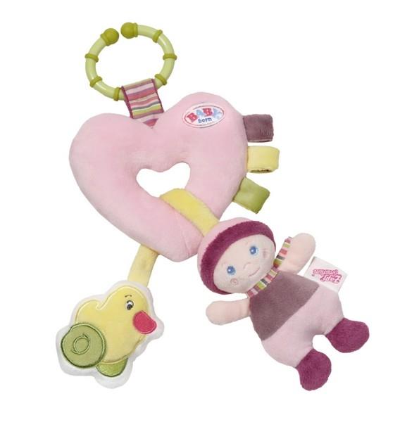 BABY BORN srdicko s aktivitami pro miminka