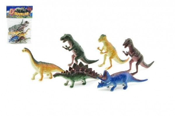 Dinosaurus plast 6ks v sáčku 18x26x4cm