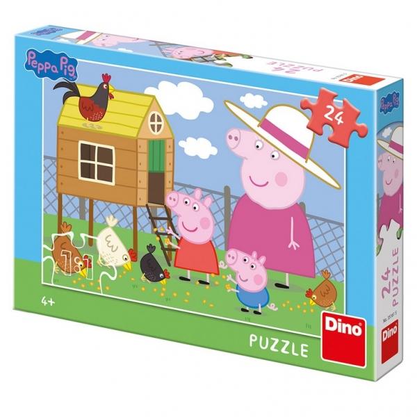 Puzzle 24 Prasátko Peppa