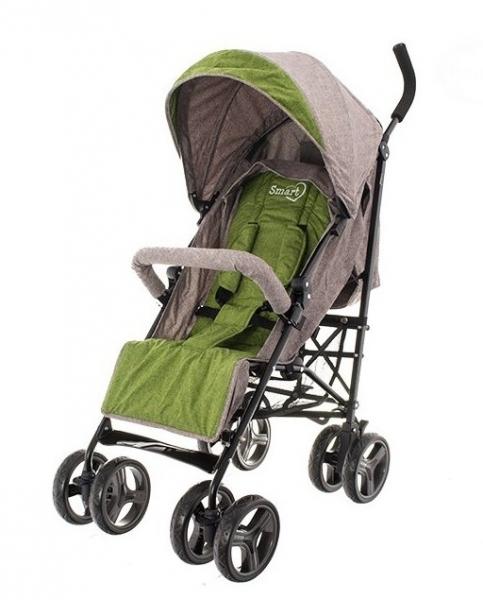 Euro Baby Dětský sportovní kočárek Smart Pro, 2019 - khaki, Ce19