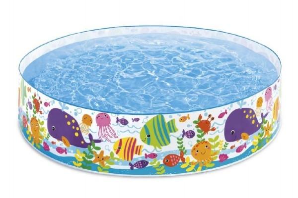 Bazén dětský mořský svět 183x38cm 3+