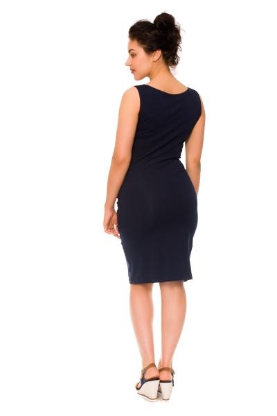 Be MaaMaa 2-dílné těhotenské/kojící šaty Sia - granát, vel. XL