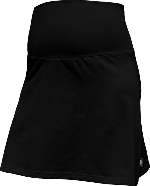 Letní těhotenská sukně Jolana - Áčkový střih, černá, M/L
