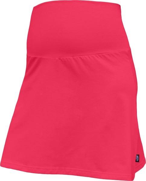 Letní těhotenská sukně Jolana - Áčkový střih, lososová