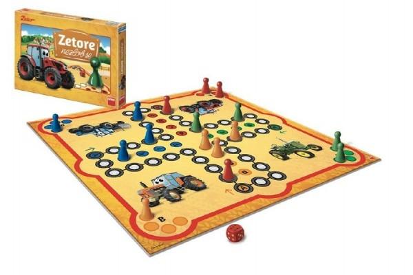 Zetore nezlob se společenská hra v krabici 33x23x3,5cm