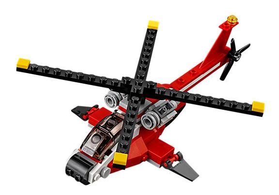 Lego Creator 3v1 - Průzkumná helikoptéra - 102 ks