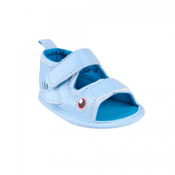 Capáčky, sandálky Fish - sv. modré, 6-12 m, Velikost: 6/12měsíců