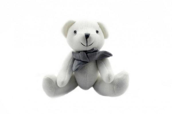 Medvěd/medvídek kloubový plyš 23cm asst 2 barvy v sáčku 0+