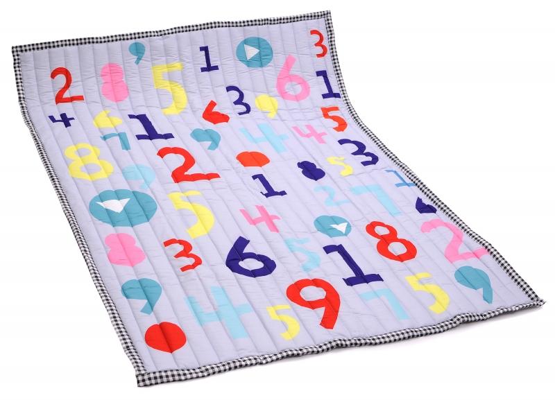 Koberec - hrací deka - Číslice
