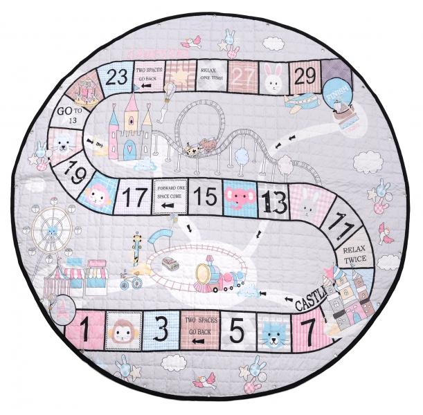 Hrací deka - koš na hračky - Číslice
