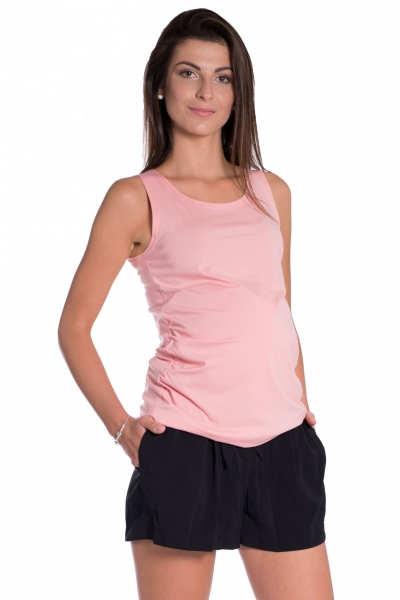 Be MaaMaa Top/tílko nejen pro těhotné - růžová, vel. L/XL