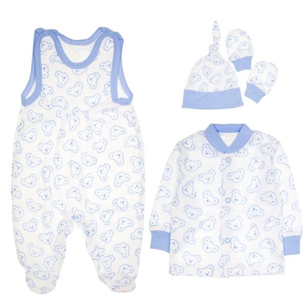 Soupravička do porodnice 4D - Koaly - modrá