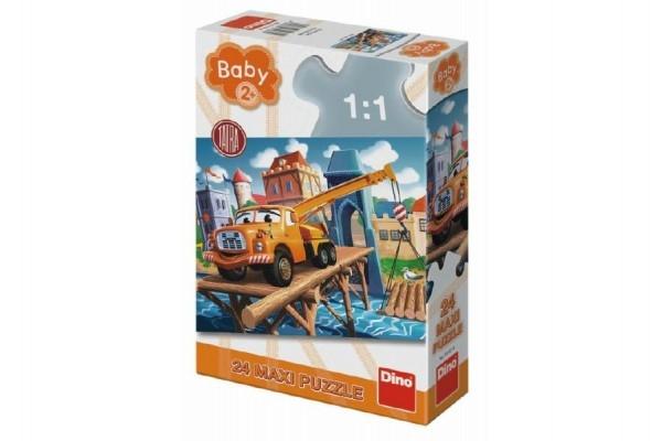 Puzzle baby Tatra 66x47cm 24dílků v krabici 20x30x6,5cm