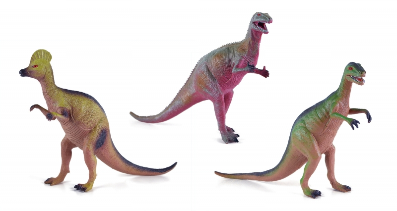 Dinosaurus, 12 druhů, 25 - 33 cm