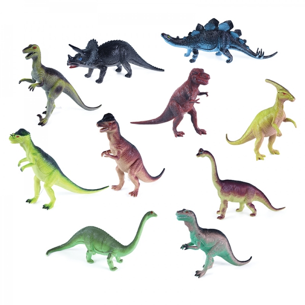 Dinosaurus, 10 druhů, 25 - 35 cm