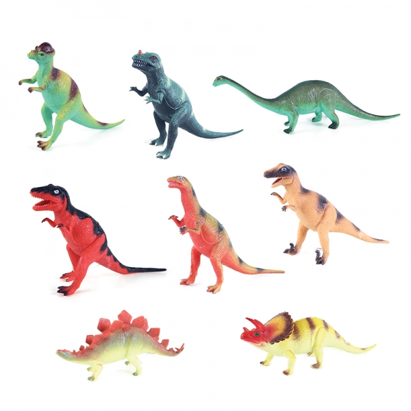 Dinosaurus se zvukem, 8 druhů, 21 - 29 cm