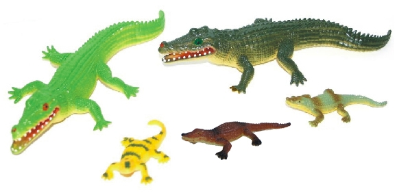 Krokodýli, 5 ks v sáčku
