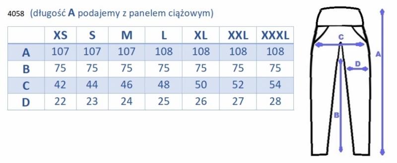 Be MaaMaa Těhotenské legíny s pásem a kapsami - granátové, vel. XXXL, K19