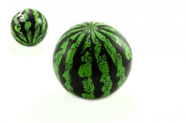 Míč nafouklý meloun plast 20cm v síťce