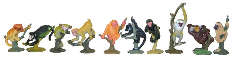 Opice, 10 ks v sáčku