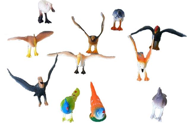 Ptáci 12 ks v sáčku
