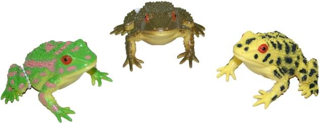 Žába se zvukem, 3 druhy, 8 cm