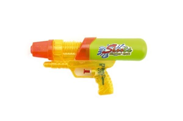 Vodní pistole plast 24 cm asst 2 barvy v sáčku