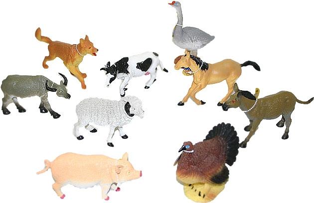 Zvířata domácí 14 - 17 cm