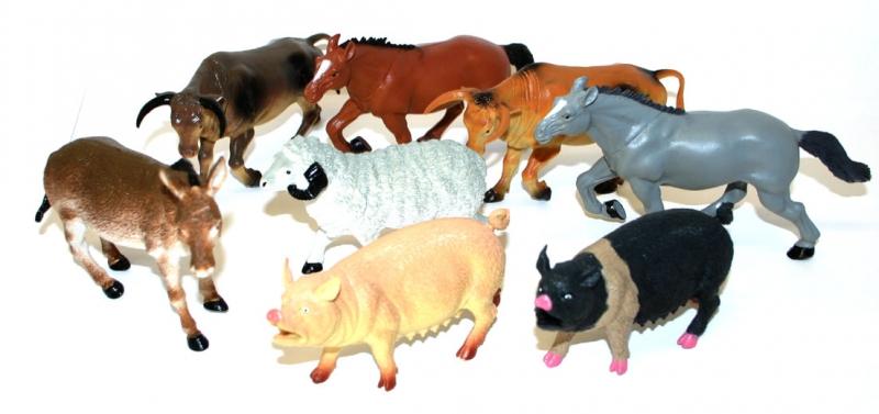 Domácí zvířata 12 - 20 cm