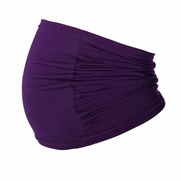 Be MaaMaa Těhotenský pás - fialový