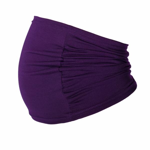 Be MaaMaa Těhotenský pás - fialový, vel. L/XL