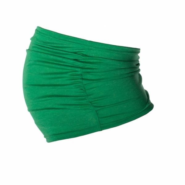 Be MaaMaa Těhotenský pás - zelený, vel. L/XL