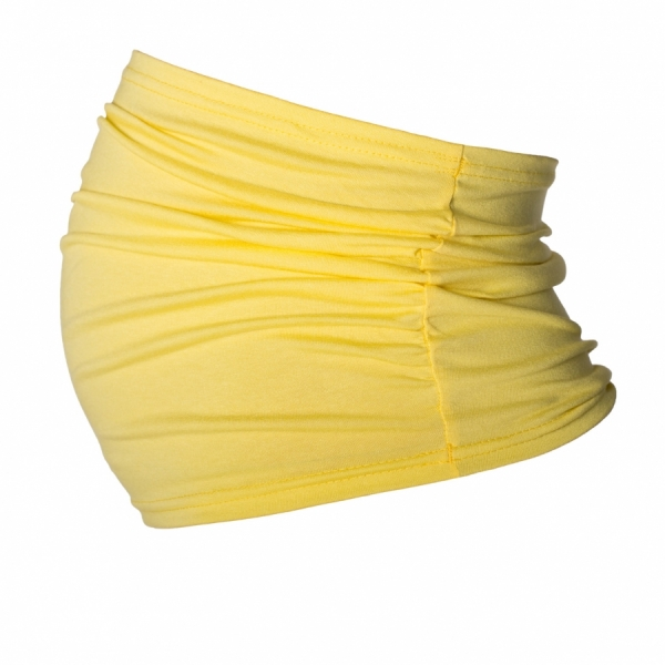 Be MaaMaa Těhotenský pás - žlutý, vel. L/XL