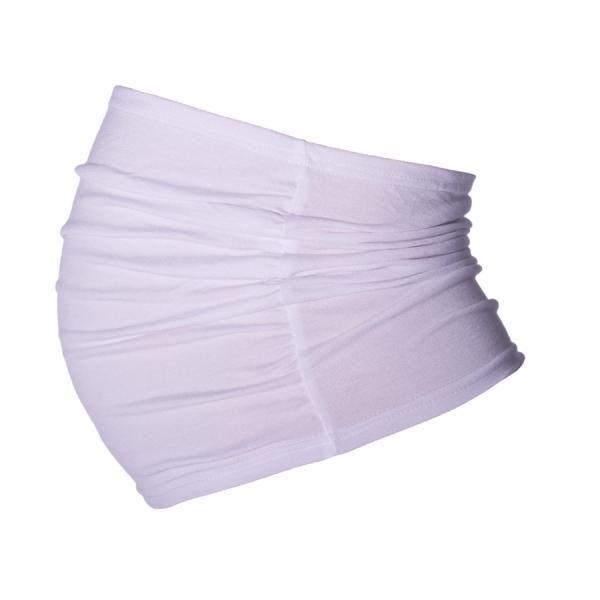 Be MaaMaa Těhotenský pás - bílý, vel. L/XL