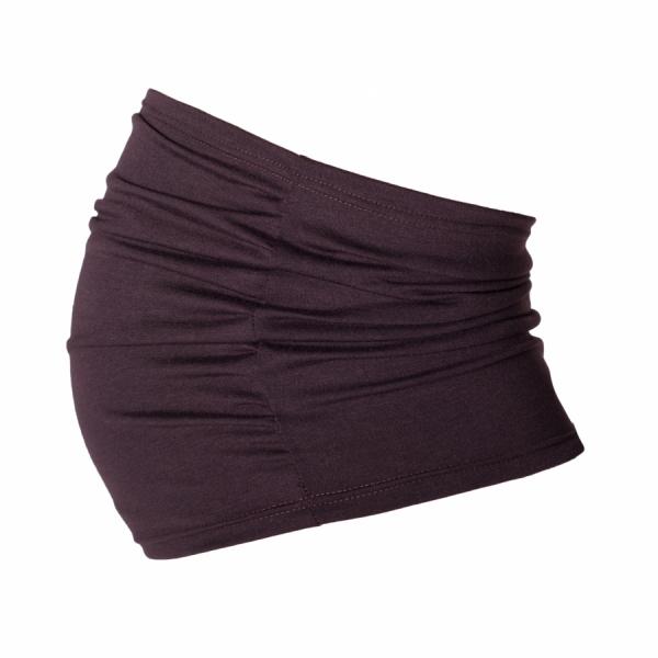 Be MaaMaa Těhotenský pás - hnědý, vel. L/XL